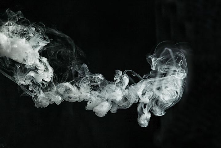 Vaping smoke